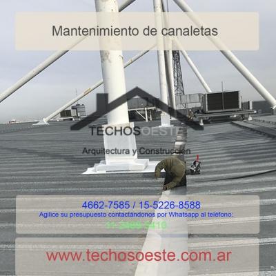 mantenimiento de canaletas en industrias